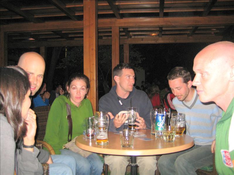 Hippo Hostel crew out for a pub crawl