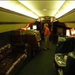 inside the Lisa Mari, the personal jet of Elvis