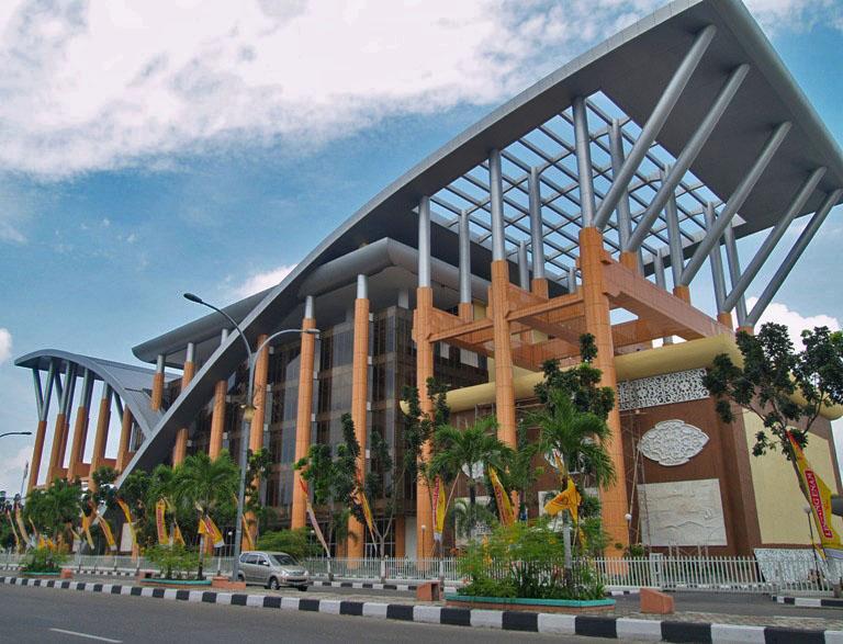 Pekanbaru's public Library