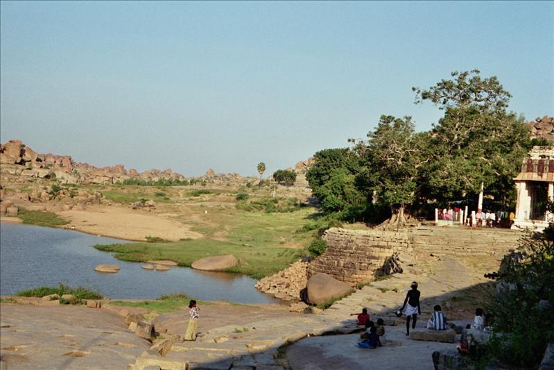 the Tungabhadra river