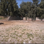 The site of the temple today