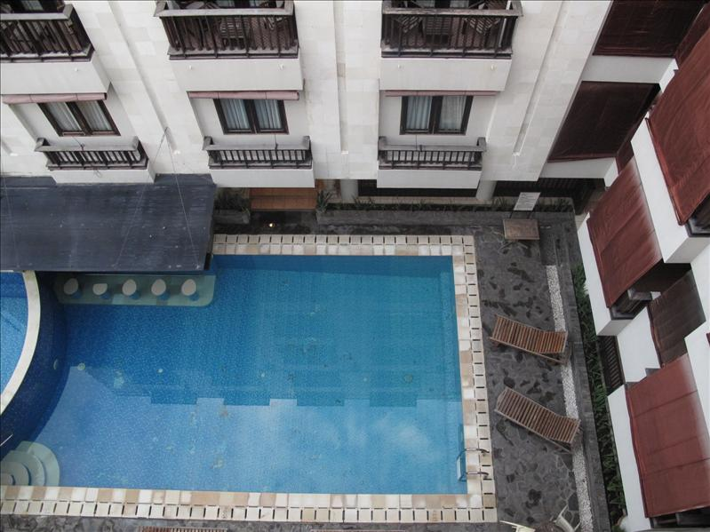 Pool view from my room (bird eyes view)