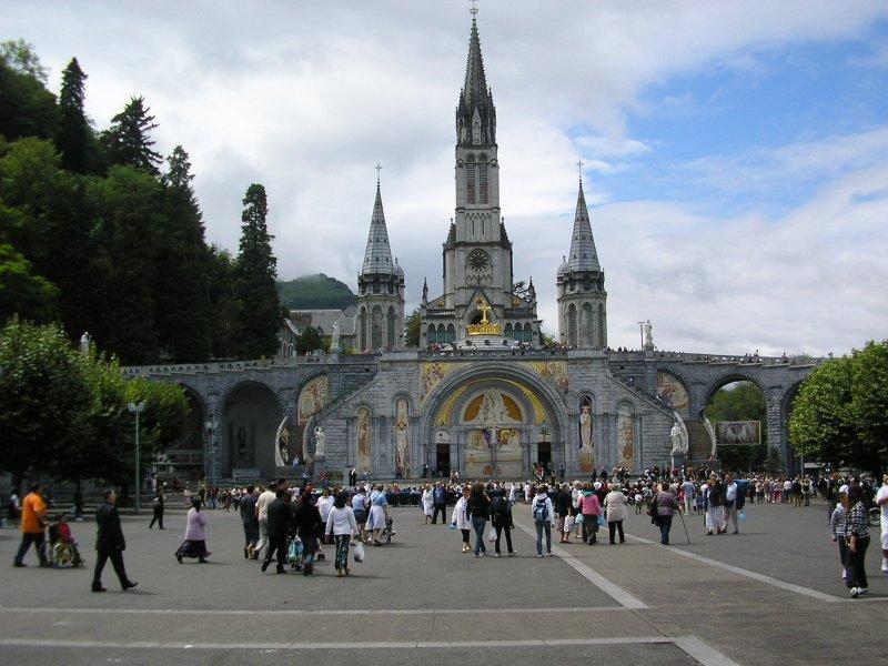 The Sanctuary at Lourdes....