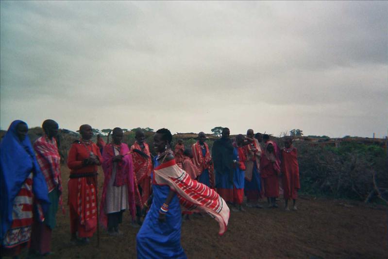 Poblado Masai © Fernando