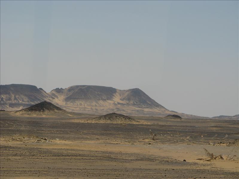 de zwarte woestijn