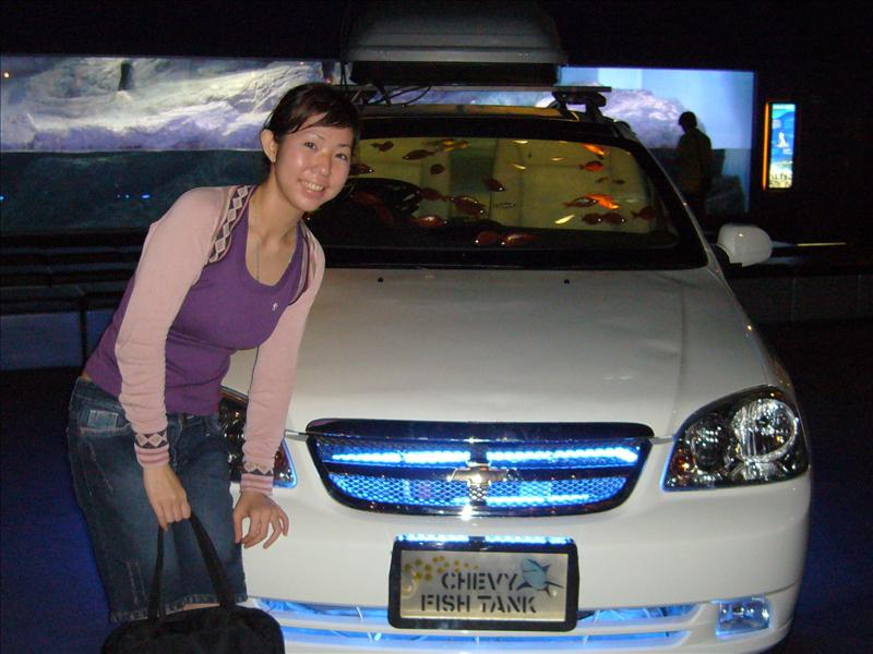 "The ""Chevrolet"" Fish Tank"