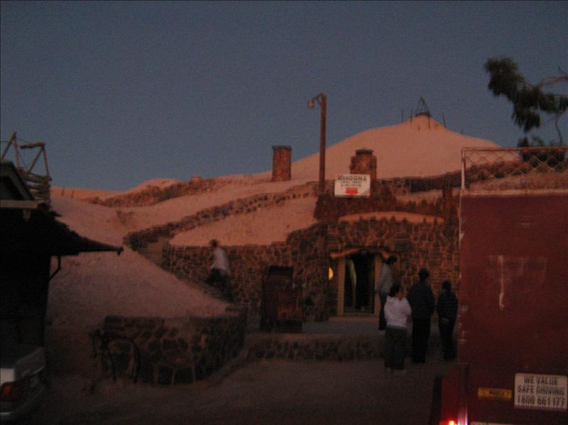 The Opal Mine in Coober Pedy