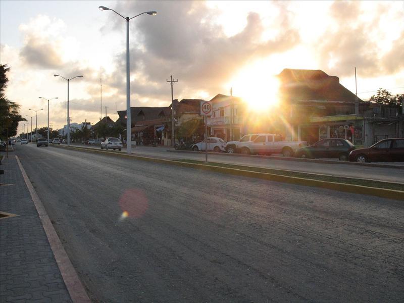 le strade di tulum