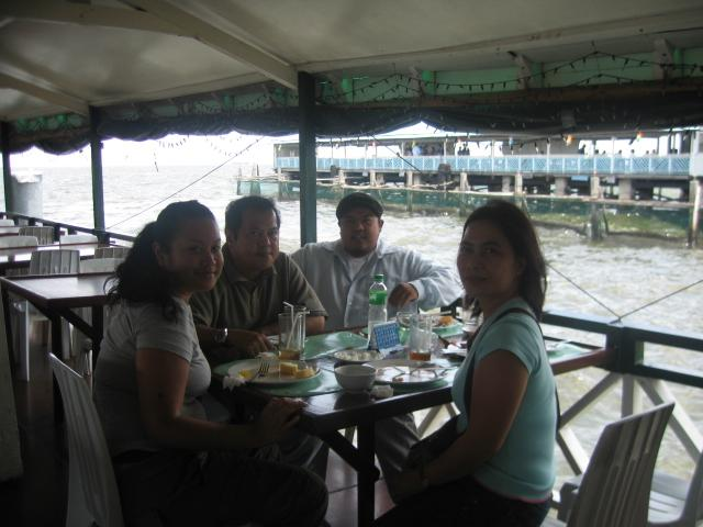 lunch on a boat