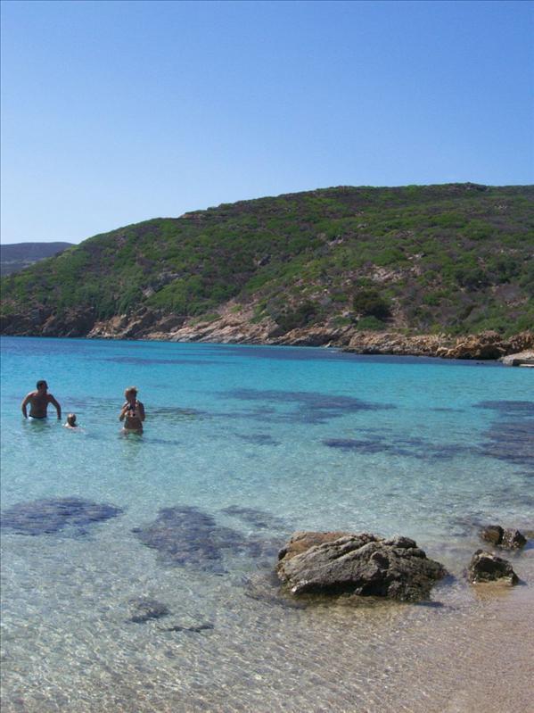 Asinara Cala Sabina beach