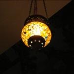 light of Turkish food restaurant