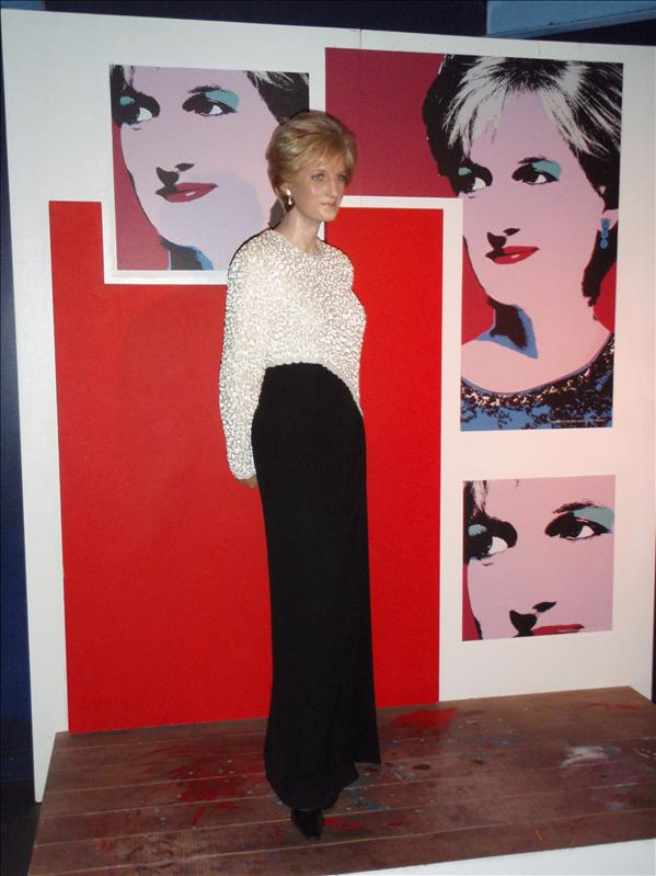 Princess Diana, Madame Tussaude's Wax Museum - 20th May