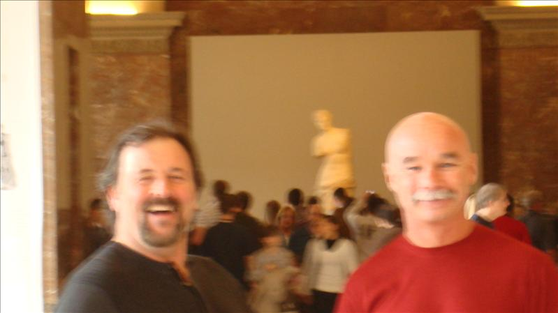Mark & Dan with Venus De Milo