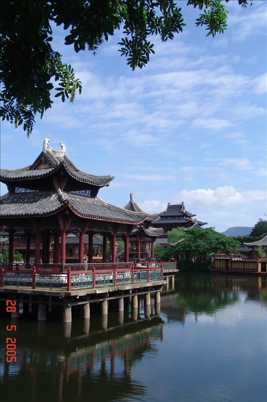 浙江东阳清明上河图景观
