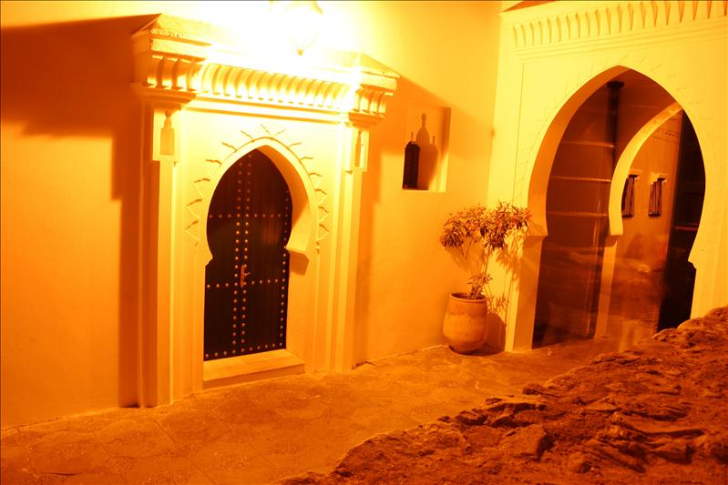 ghosts using the doorway in Asilah...