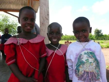 the younger girls at KYGN (Kilimanjaro Young Girls in Need)