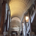 going towards the sistine chapel.