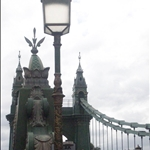 The Hammersmith Bridge, so nice!