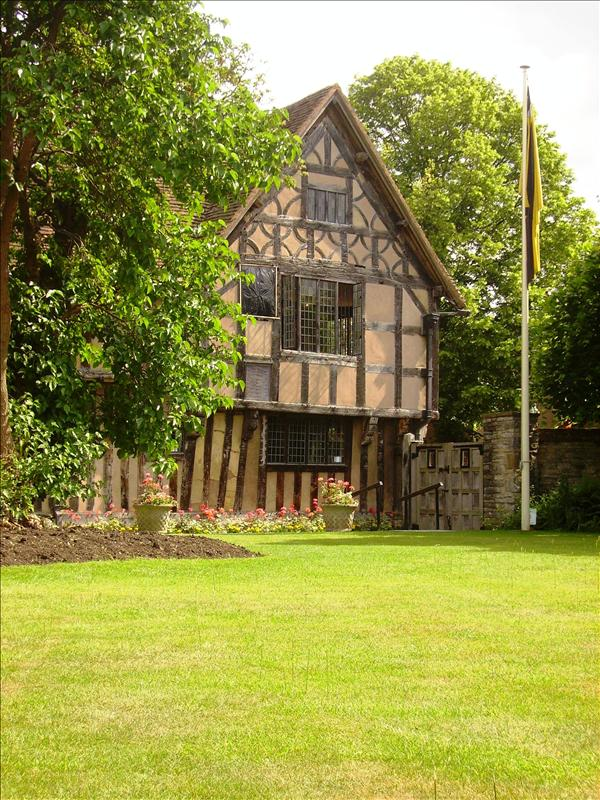 Shakespeare's daughter's house