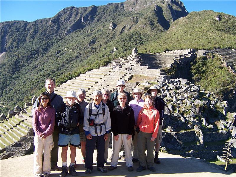 MACHU PICCHU  -GROUP PHOTO