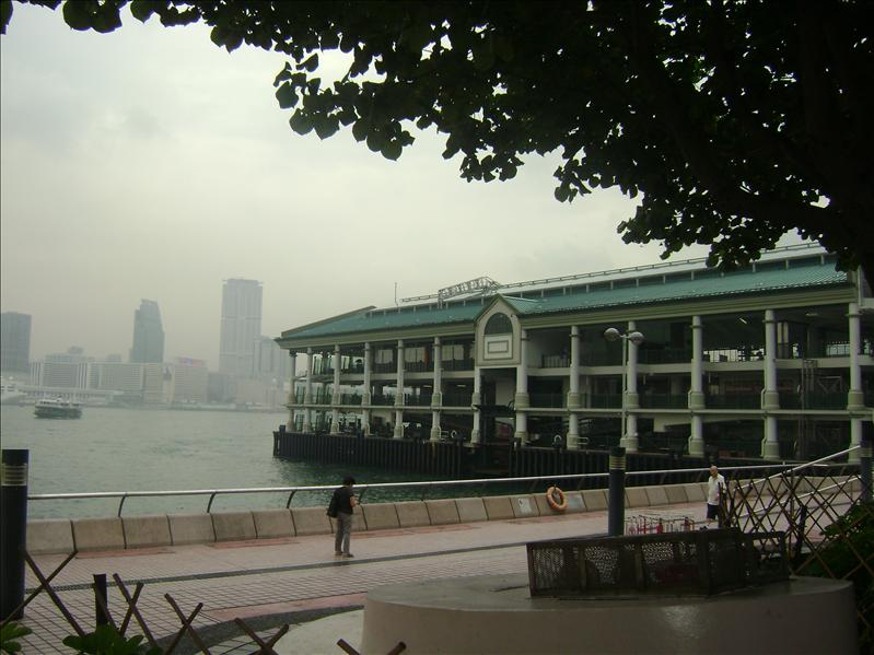 Pier in Tsin Sha Tsui