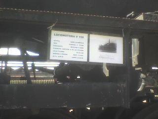 Cartel locomotora 158
