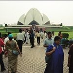 BAHA'I TEMPLE NEW DEHLI