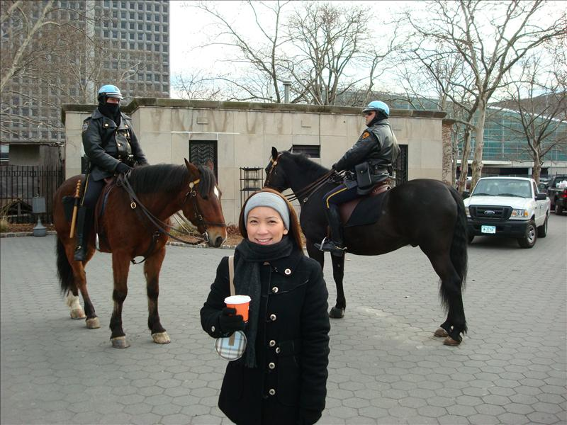 NY cops on horse!