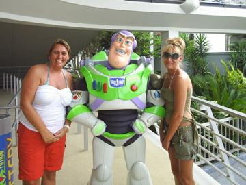 Mummy Sue, Buzz and Rach