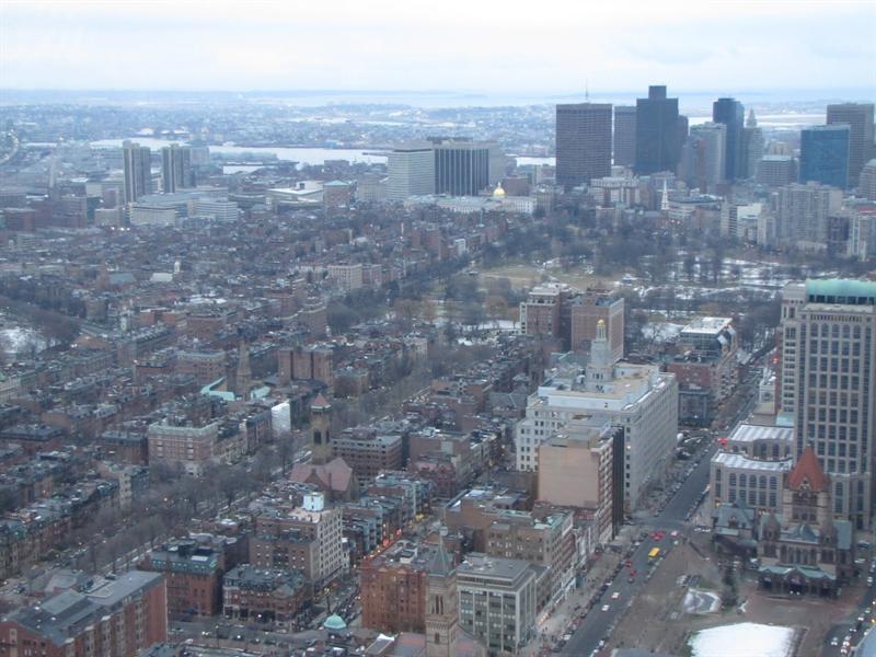 Boston Skywalk Prudential Center
