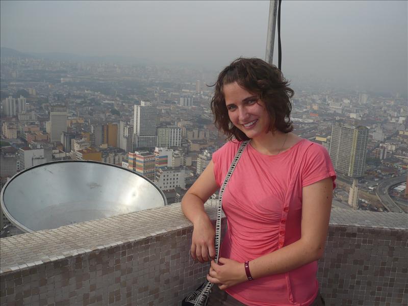 Ausblick über Sao Paulo - kilátás Sao Paulóra