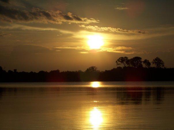 SUNSET, AMAZON