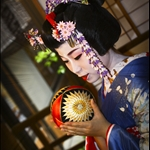 Japanese Traditional Maiko Dress