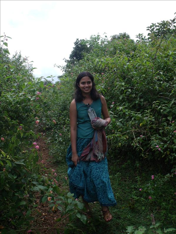 Again, in Tamil Nadu – lost and hot, but smiling (it must be the rum)