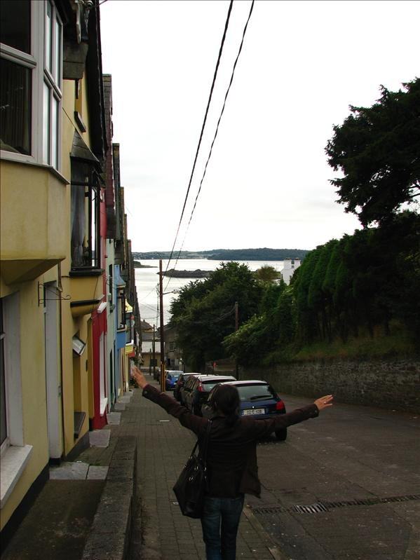 This street was crazy steep