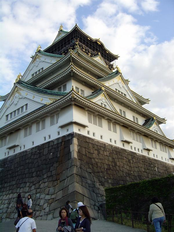 "OSAKA CASTLE MUSEUM (大阪城 ""天 守 閣"" )"