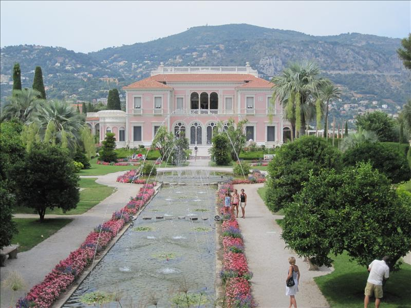 Villa Euphrisi Rotschild, Cap Ferrat, France