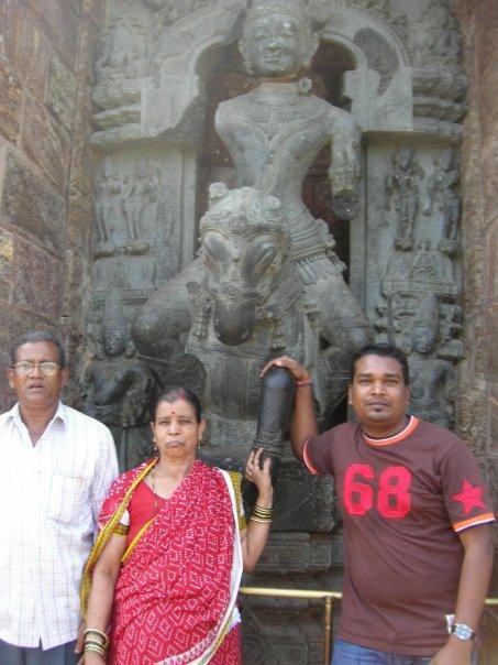 Sanjay, Dad & Mom