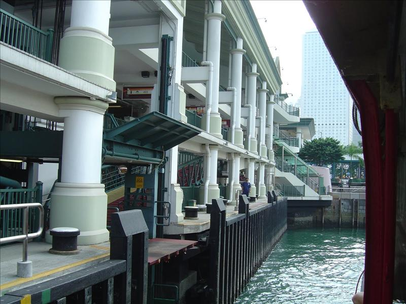 Newly  Starferry dock