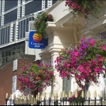 This is the front of the Comfort Inn in London, England where I stayed.  It is located in the Westminster area.
