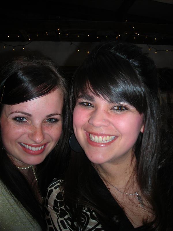 Sarah and I at graduation