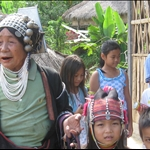 HIllTribe people Thailand 2008