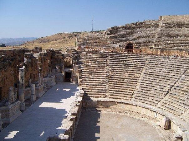 THE WORLD IS A STAGE, HIERAPOLIS