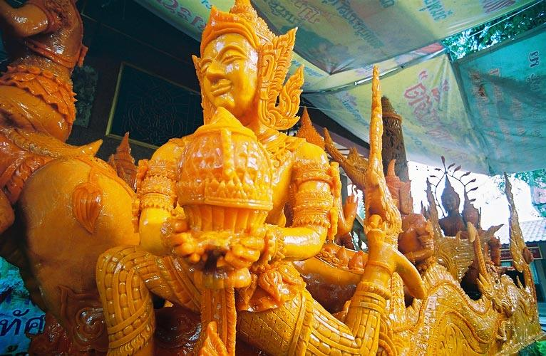 Wax Sculpture at Wat Tai (South)