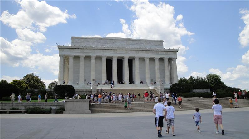 Lincoln Memorial...