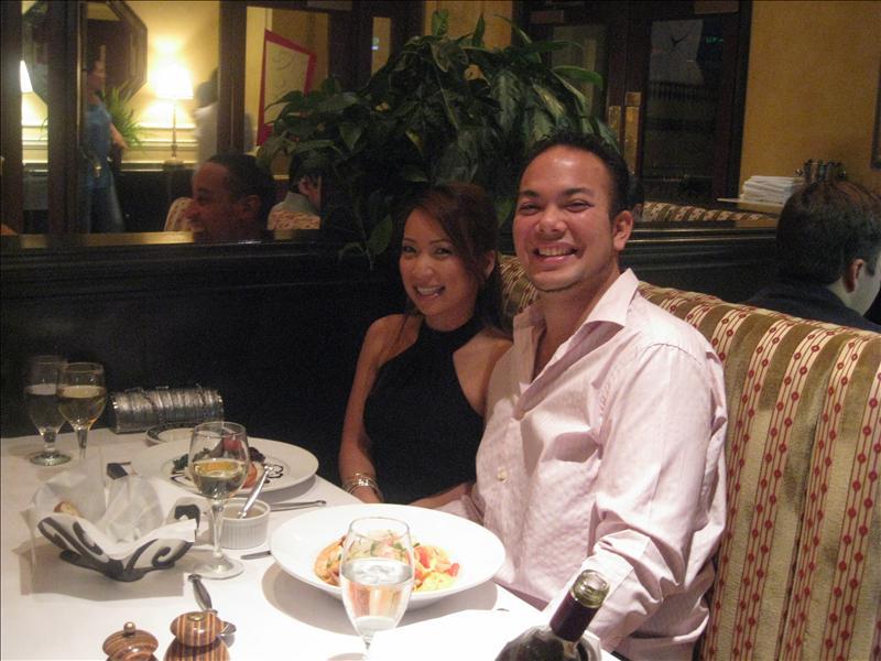Dinner at Bambara, Hotel Monaco