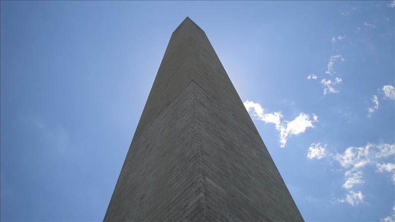 View from right below the Washington Monument