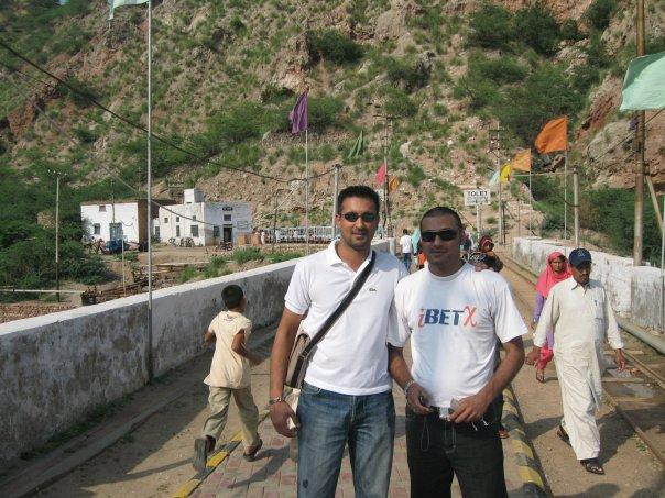 Along Imran Malik from www.ibetx.com , at Khewra Salt mine