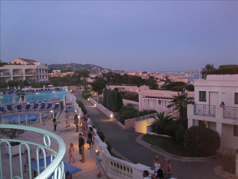 View from the balcony - Cannes