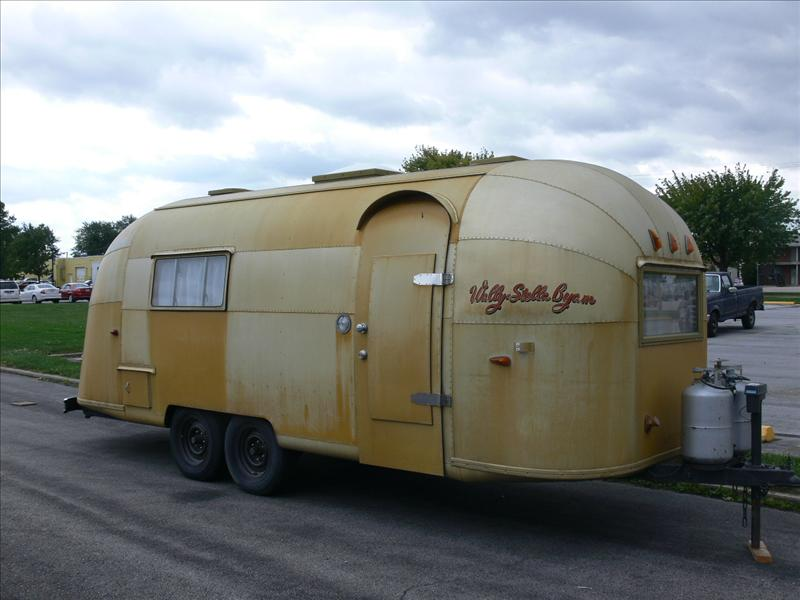 The 50's trailer that went to Afica